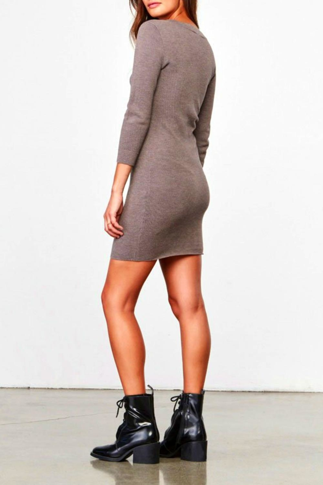 Jack by BB Dakota Violet Bodycon Dress - Front Full Image