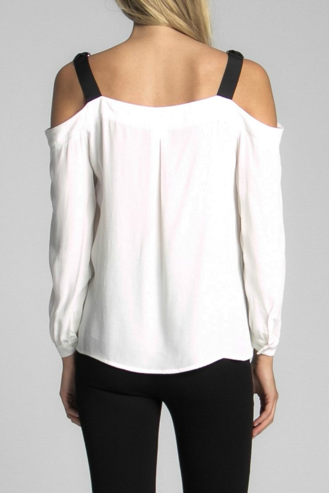 Jack Meets Kate Bailey Ribbon Blouse - Side Cropped Image