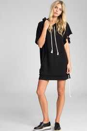 Jack Meets Kate Destroyed Sweatshirt Dress - Front full body