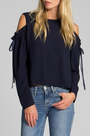 Jack Meets Kate Gemma Open Shoulder Blouse - Product Mini Image