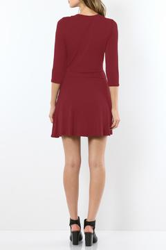 Shoptiques Product: Laced-Up Skater Dress