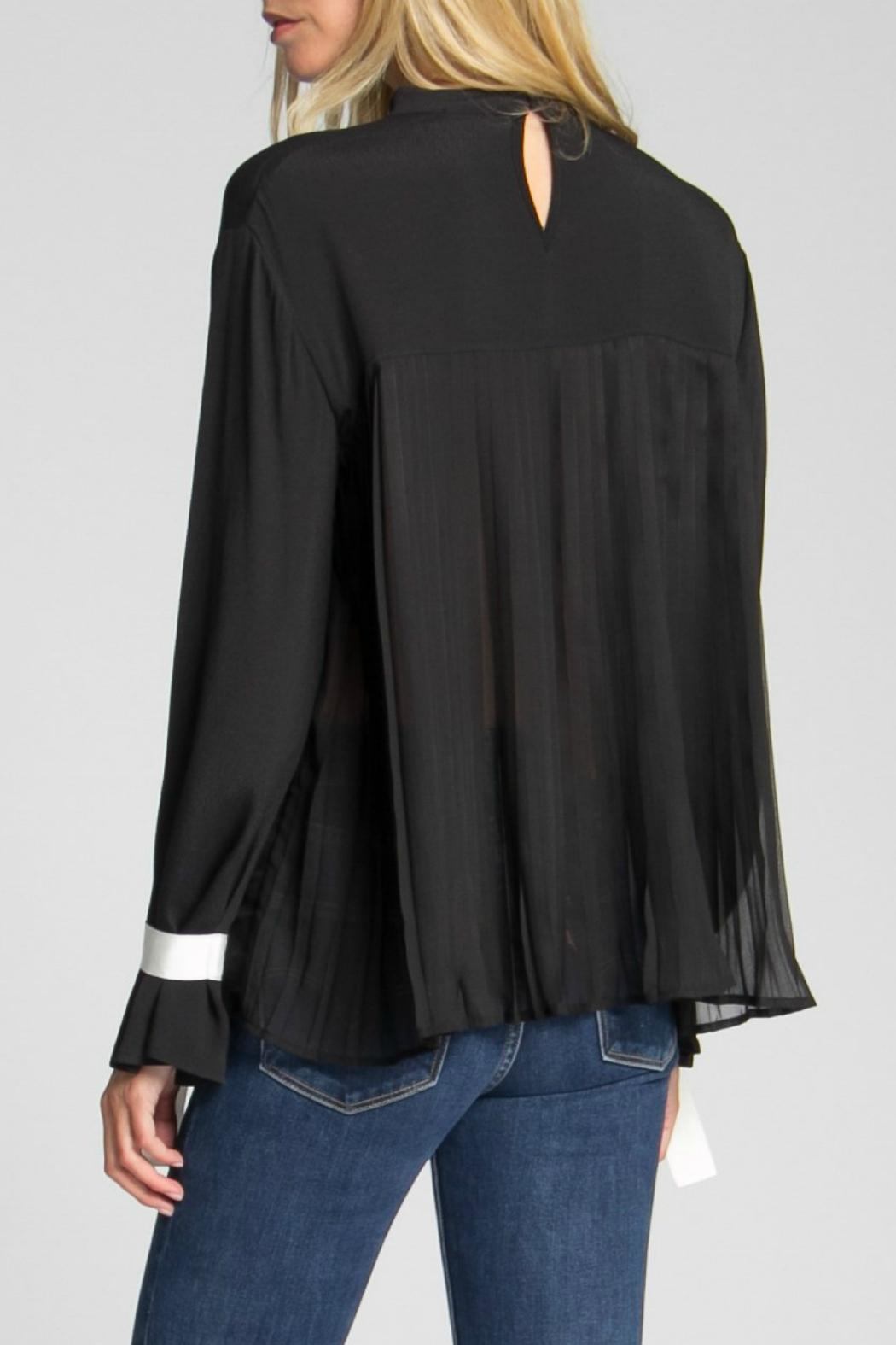 Jack Meets Kate Natalie Ribbon Blouse - Side Cropped Image