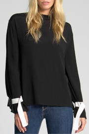 Jack Meets Kate Natalie Ribbon Blouse - Front cropped
