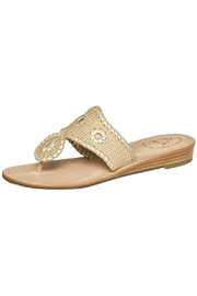 Jack Rogers Camel Wedge Sandal - Product Mini Image