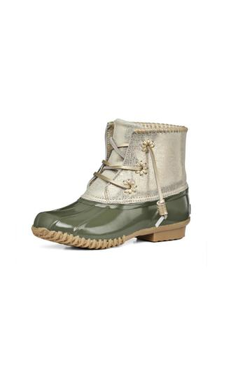 Jack Rogers Chloe Olive Boots From Connecticut By Seasonal