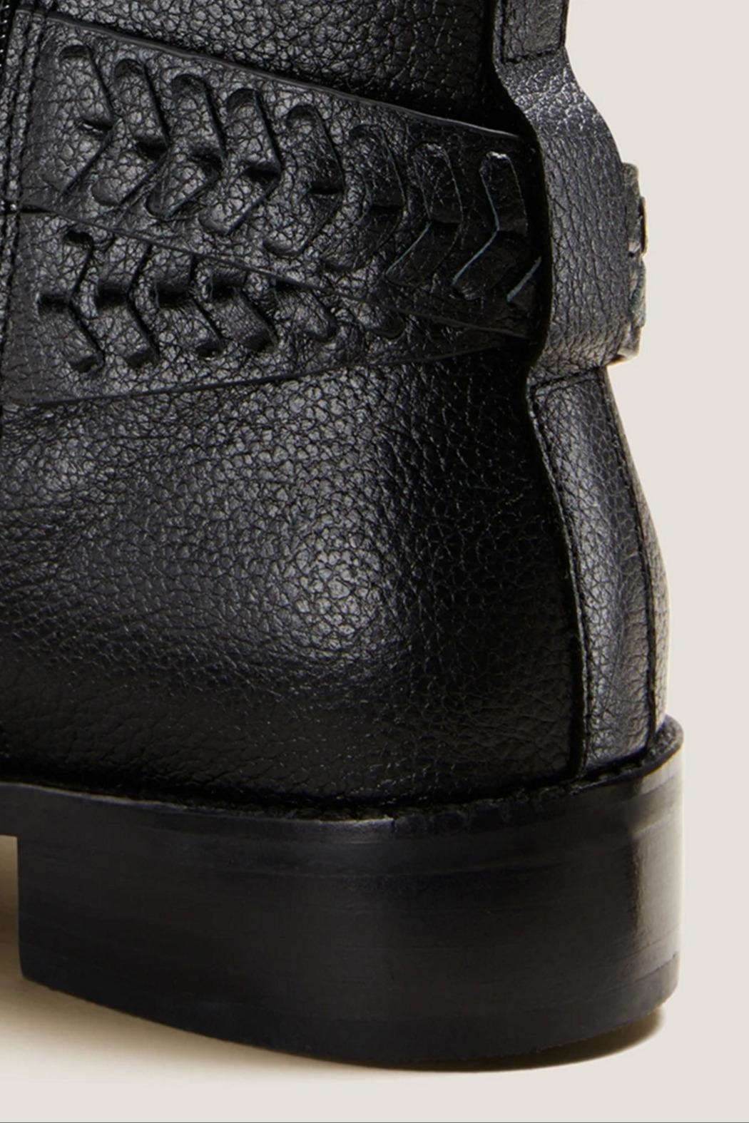 Jack Rogers Eliza Moto Bootie - Side Cropped Image