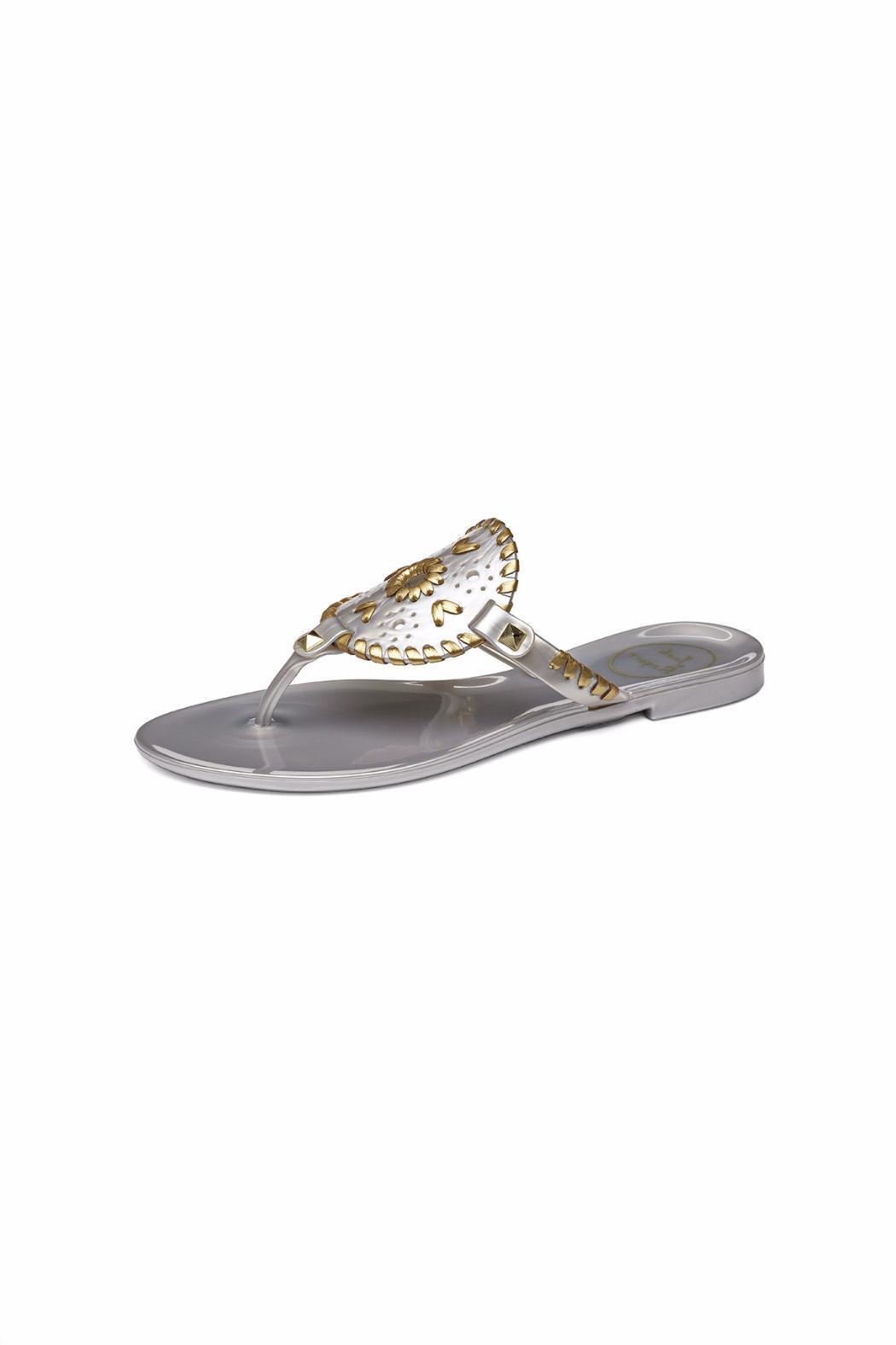 Jack Rogers Georgica Jelly Sandal - Front Cropped Image