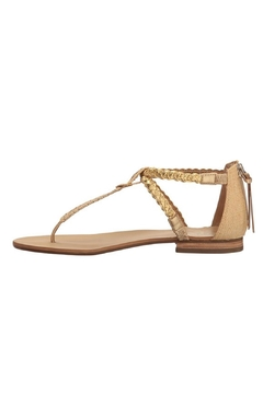 Shoptiques Product: Gold T-Strap Sandal