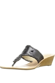 Jack Rogers Jacks Mid-Wedge Stacked Heel - Product Mini Image