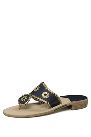Jack Rogers Nantucket Gold Sandal - Product Mini Image