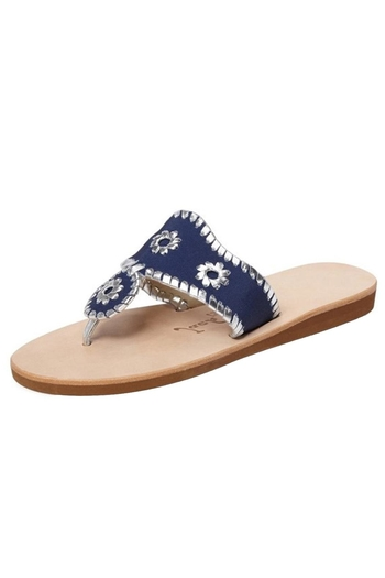Jack Rogers Navy Boating Sandal From South Carolina By