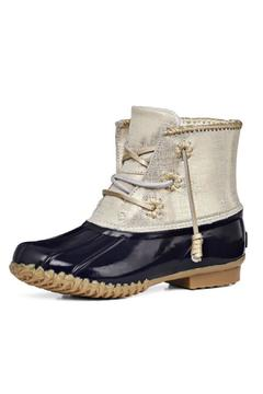 Shoptiques Product: Navy Chloe Boot