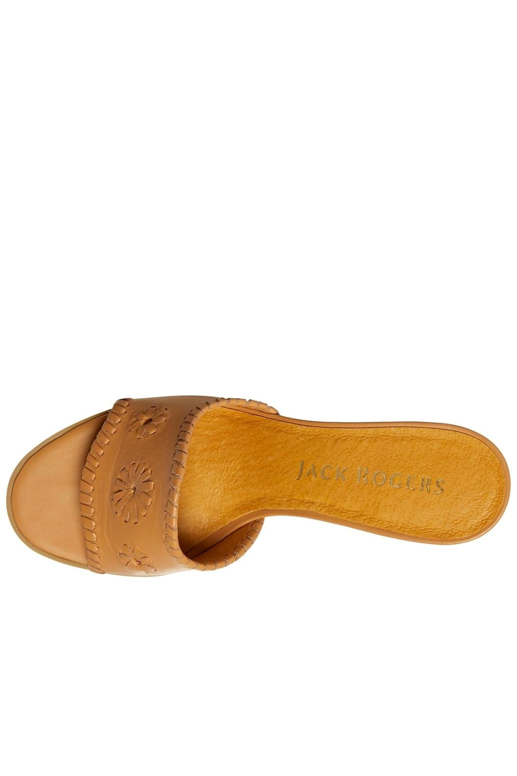 Jack Rogers Rory Mid Heel - Back Cropped Image