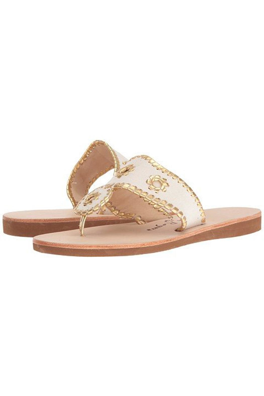 Jack Rogers Summer Boating Sandals - Front Cropped Image