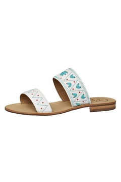 Jack Rogers White Slip-On Sandal - Product List Image