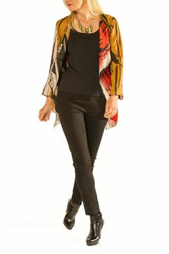 Cheryl Nash Marabou Sheer Jacket - Alternate List Image