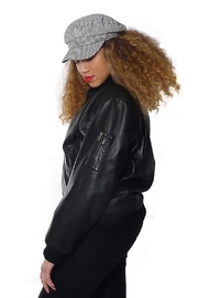 Gypsetters Jacket Leather Bomber - Front cropped