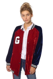 Gypsetters Jacket Velvet Star - Front cropped