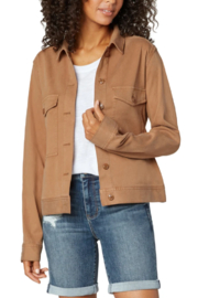 Liverpool  Jacket with Patch Pockets - Front cropped