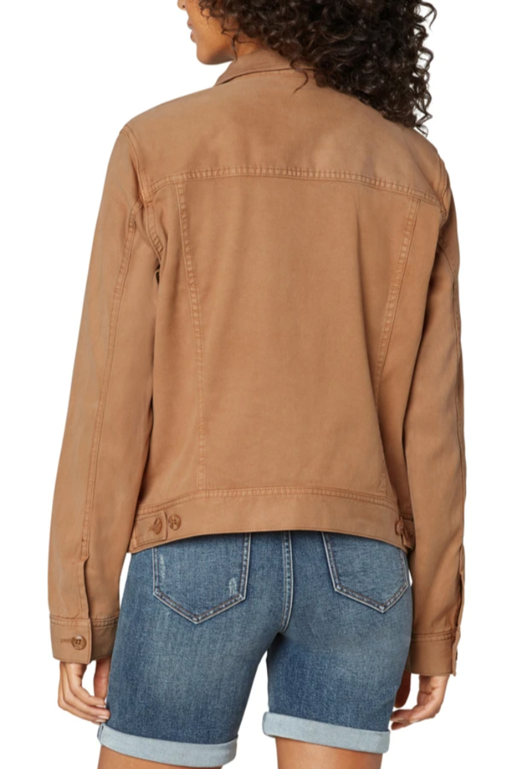 Liverpool  Jacket with Patch Pockets - Front Full Image