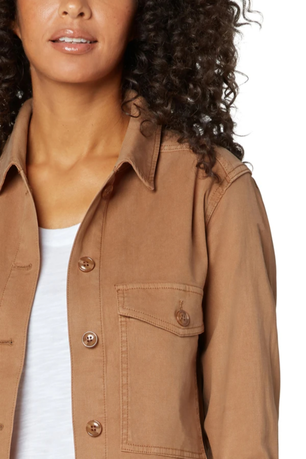 Liverpool  Jacket with Patch Pockets - Side Cropped Image