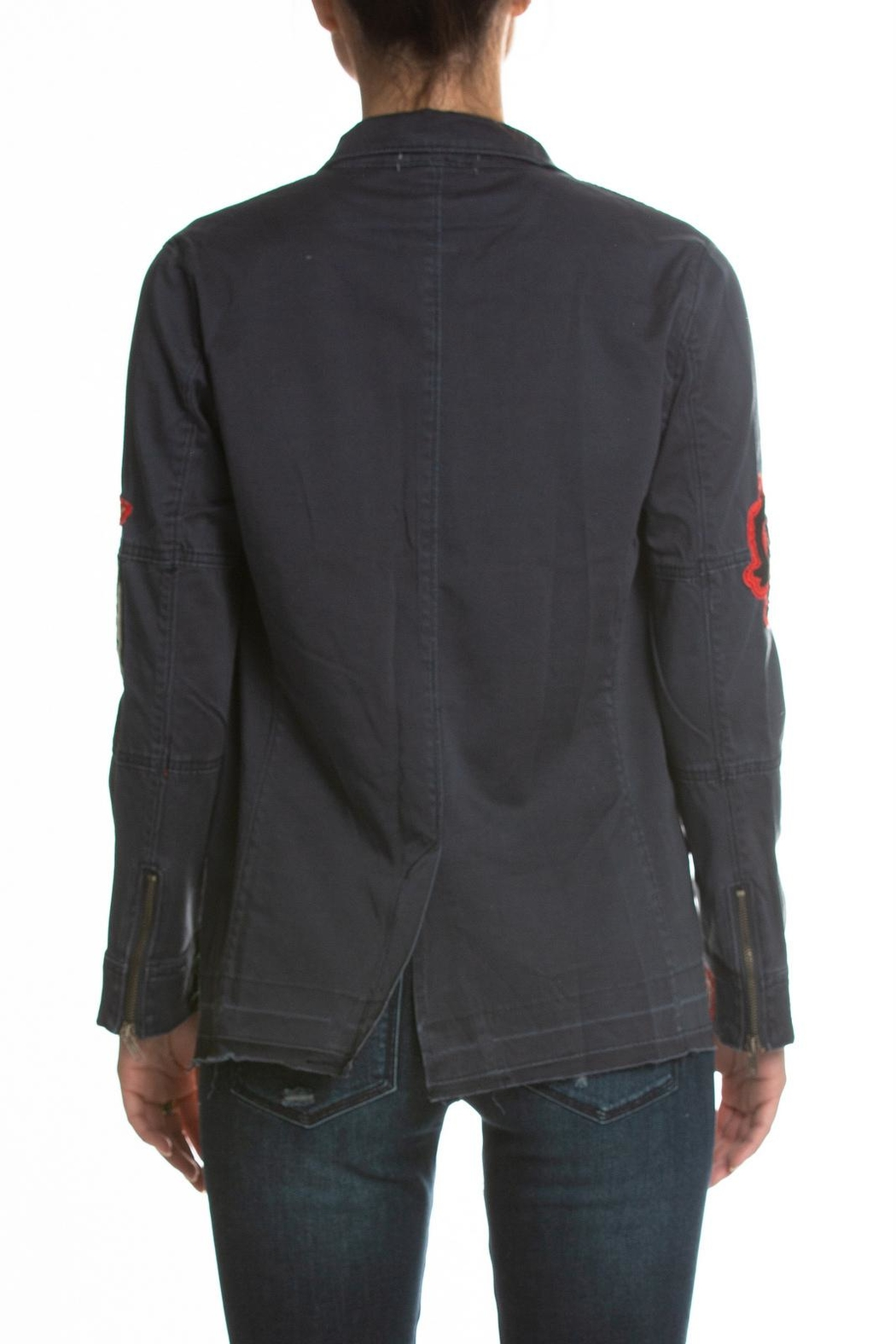 Elan Jacket With Patches - Front Full Image