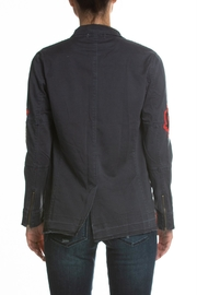Elan Jacket With Patches - Front full body