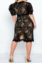 Strawberry & Cream Jackie Lace Dress - Side cropped