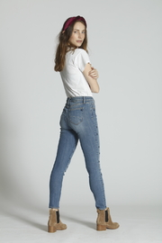 Driftwood Jackie Starry Night Embroidered Jeans - Side cropped