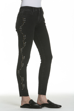 Driftwood Jackie Studded Black Jeans - Product List Image