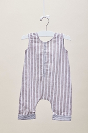 Lil Lemons Jackson Stripe Onesie - Back cropped