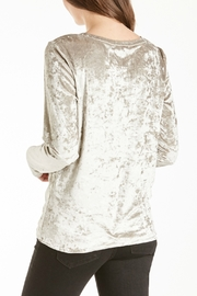 Another Love Jackson Velvet Knot Top - Side cropped