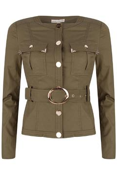 Shoptiques Product: Army Green Jacket