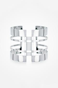 JACOBO TOLEDO Wide Silver Cuff - Product List Image