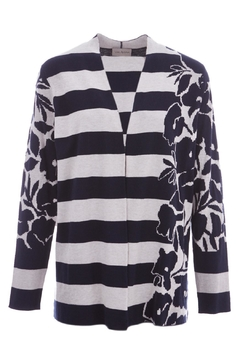Shoptiques Product: Jacquard Knitted Cardigan