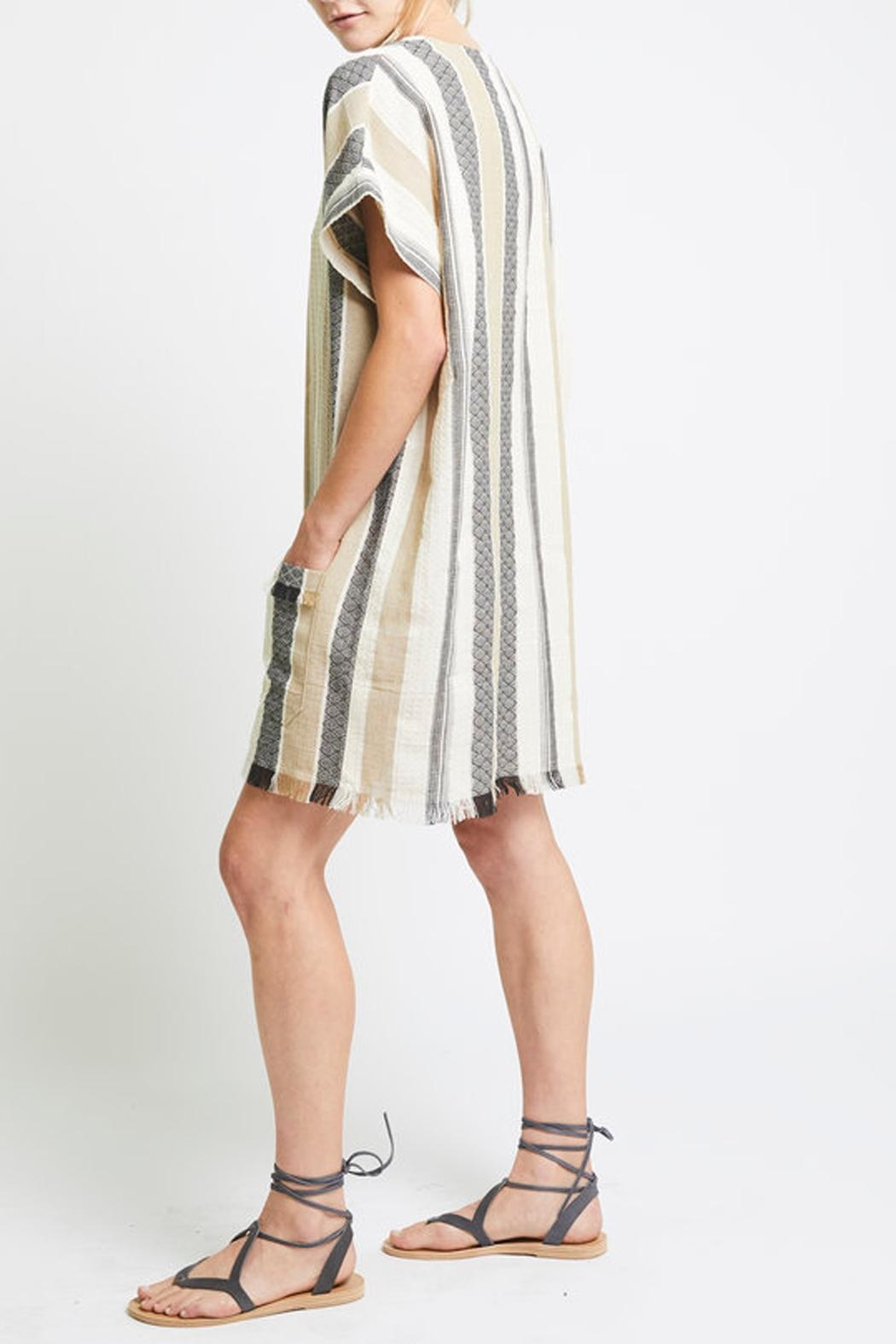 The Podolls Jacquard Ocean Dress/tunic - Side Cropped Image