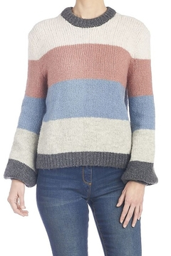 CoCo and Carmen  Jacqueline Stripe Sweater - Product List Image