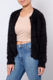 Jacqueline de Yong Fuzzy Cardigan - Front full body