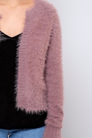 Jacqueline de Yong Fuzzy Cardigan - Back cropped