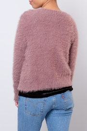 Jacqueline de Yong Fuzzy Cardigan - Side cropped