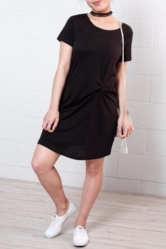 Shoptiques Product: Knot T Shirt Dress