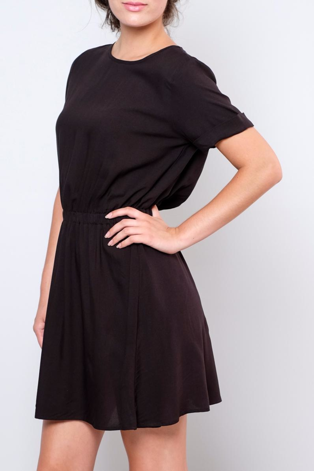 Jacqueline de Yong Liva T-Shirt Dress - Side Cropped Image