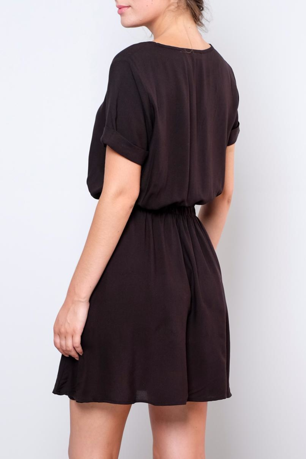 Jacqueline de Yong Liva T-Shirt Dress - Back Cropped Image