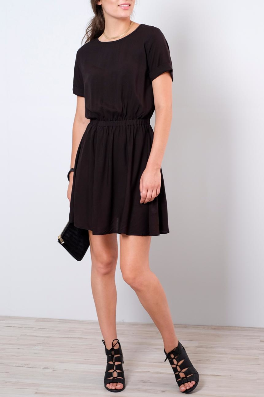 Jacqueline de Yong Liva T-Shirt Dress - Front Cropped Image