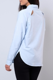 Jacqueline de Yong Relaxed Oxford Shirt - Side cropped