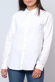 Jacqueline de Yong Relaxed Oxford Shirt - Front full body