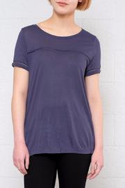 Jacqueline de Yong Sika Short Sleeve Top - Product Mini Image
