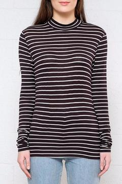 Shoptiques Product: Stripe Mock Neck Top