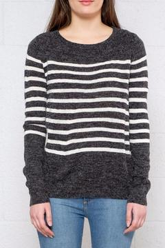 Shoptiques Product: Striped Ls Pullover