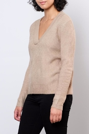 Jacqueline de Yong V Neck Pullover Top - Front full body